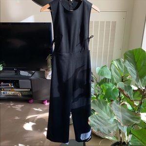 Réformation cropped jumpsuit with cutout details